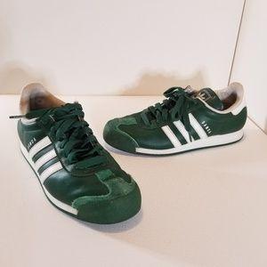 Adidas Samoa Green & White Sneakers